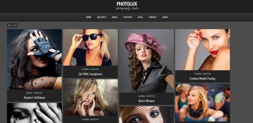 Photolux Photography Theme